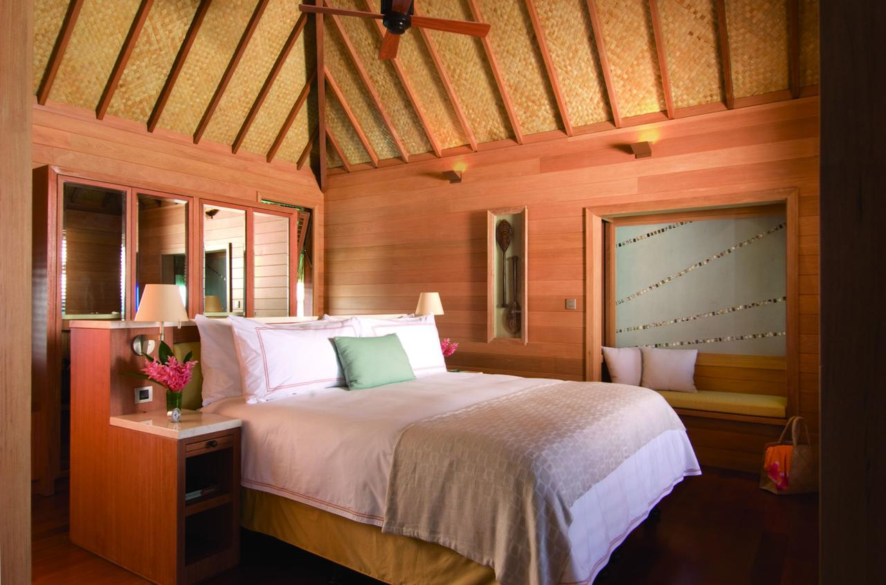 Bedroom at Four Seasons Bora Bora