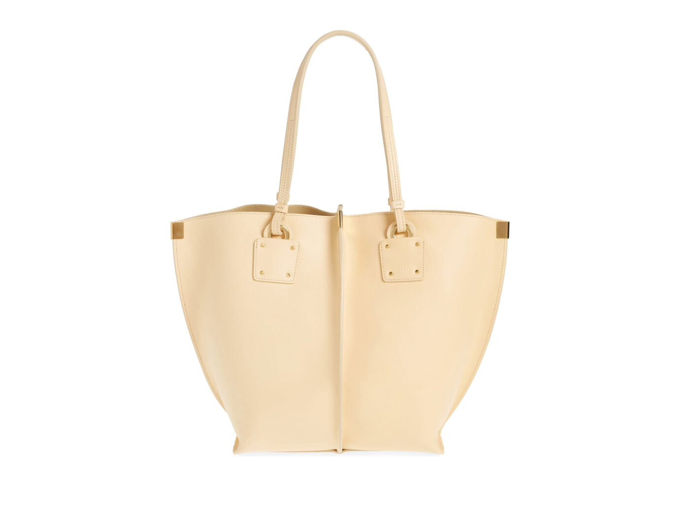 Chloé Vick Leather Tote Bag
