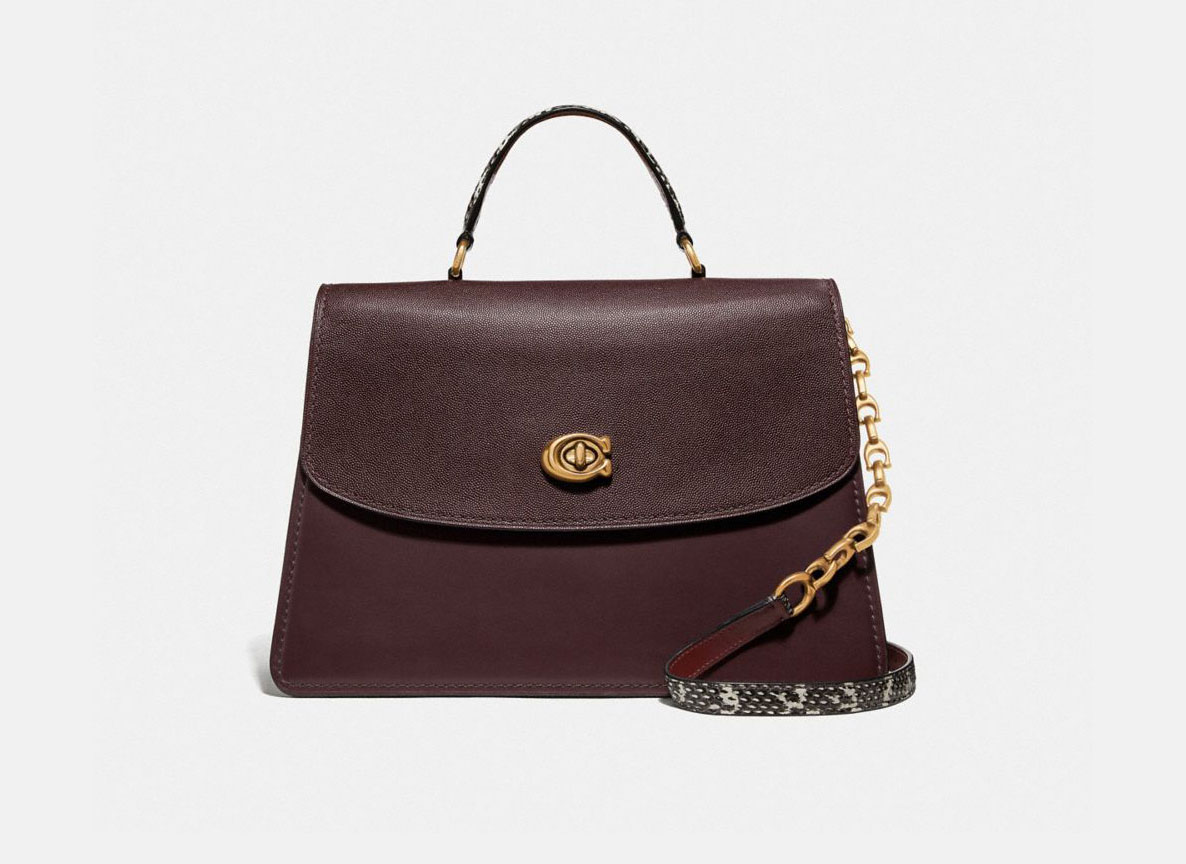 Coach Parker Top Handle 32 Satchel