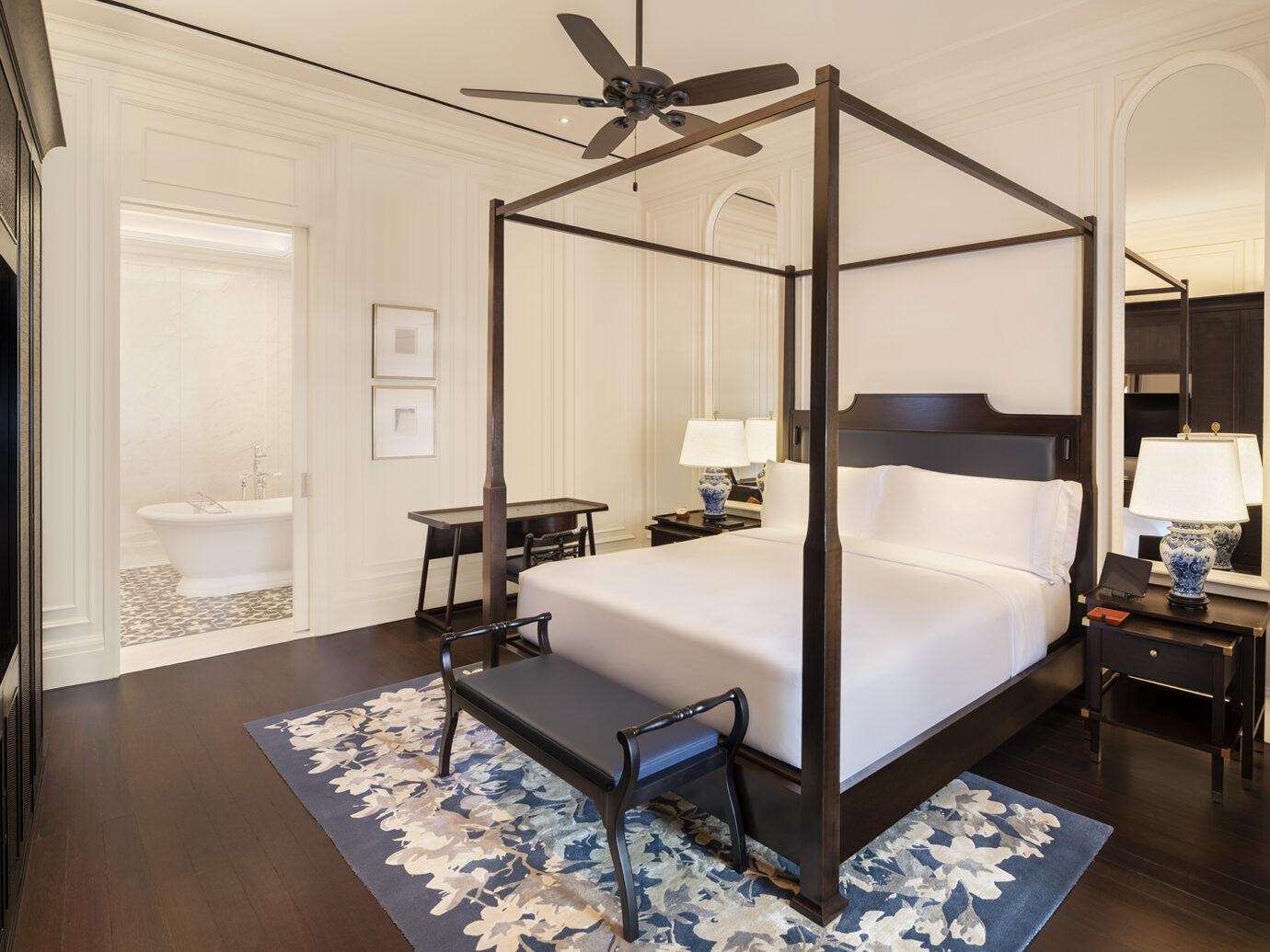 Bedroom at Raffles Singapore