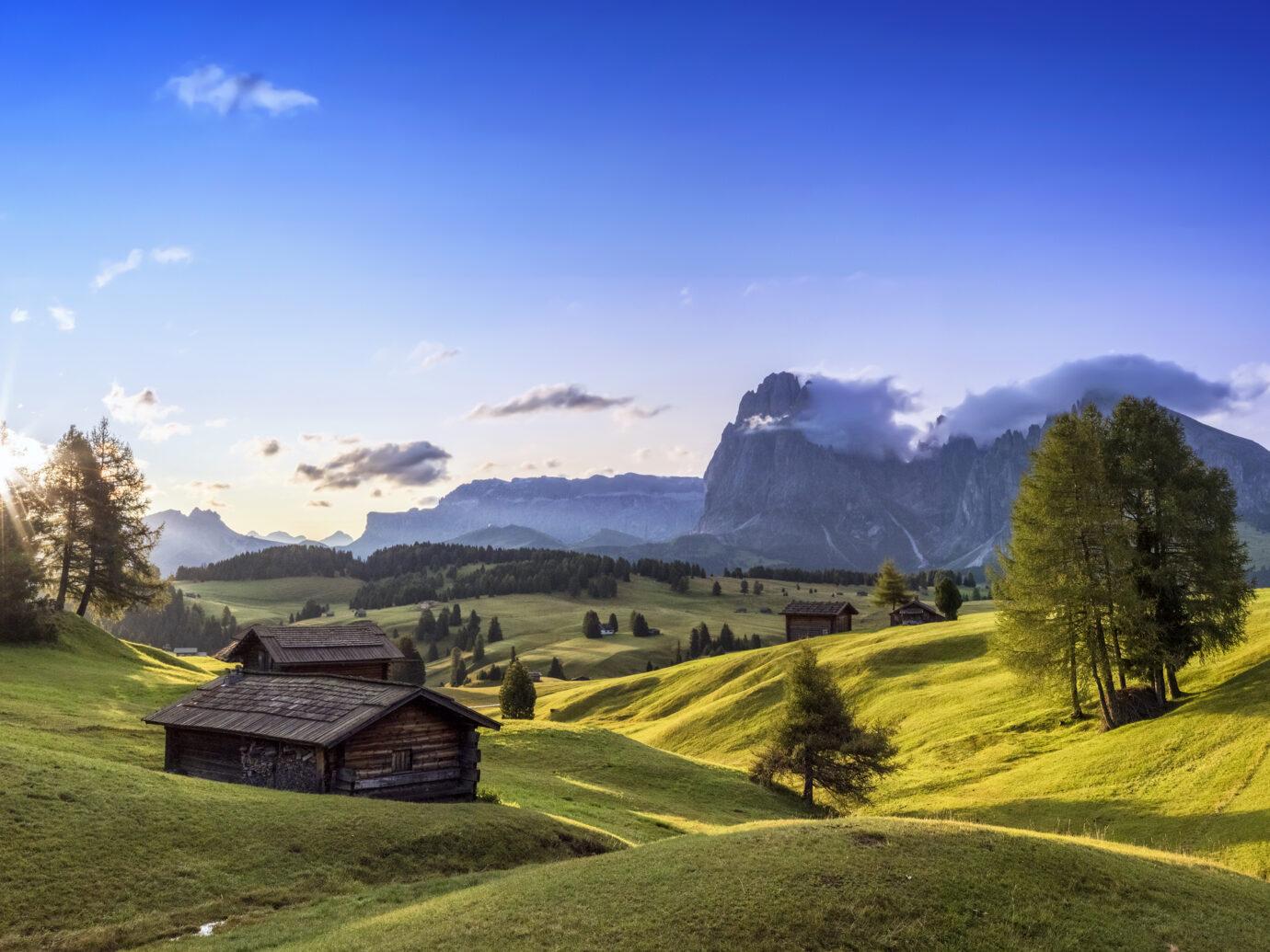 Dolomites, Mountain, Mountain Range, European Alps