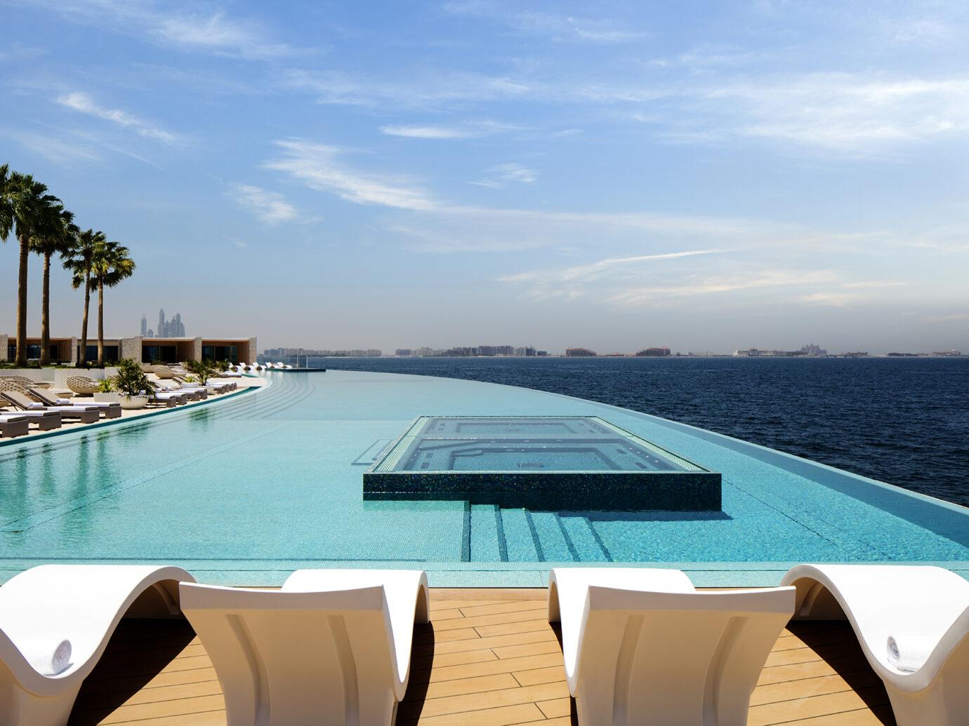 Infinity Pool at Burj al Arab