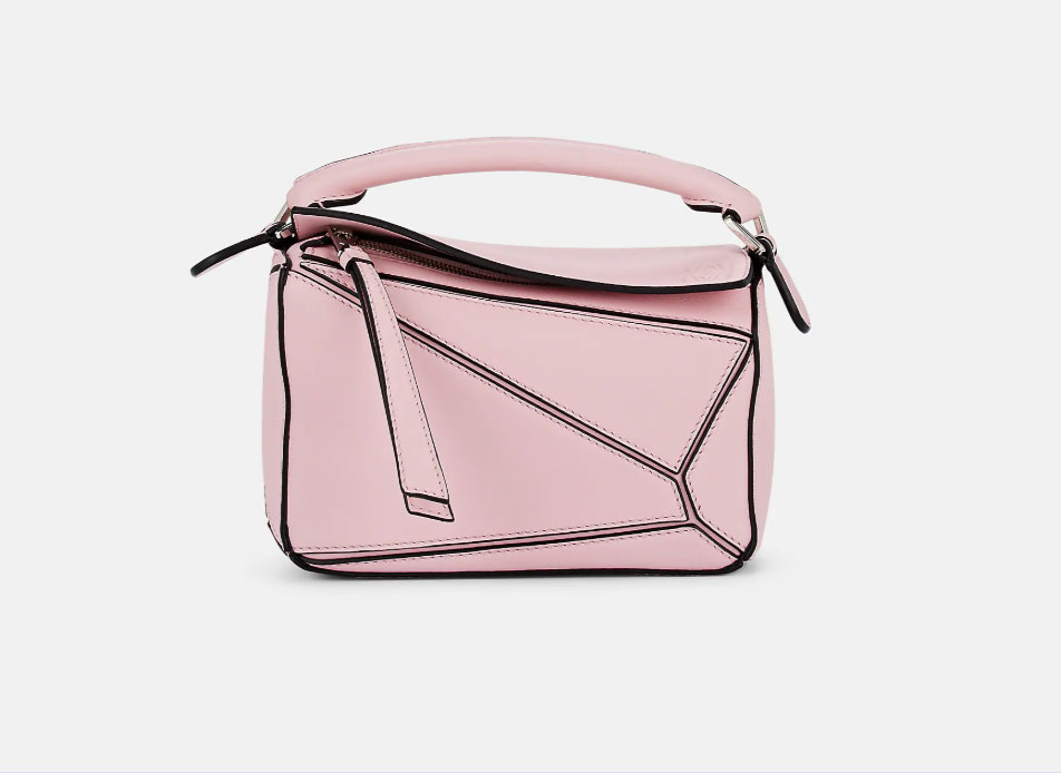 Loewe Puzzle Mini Leather Shoulder Bag