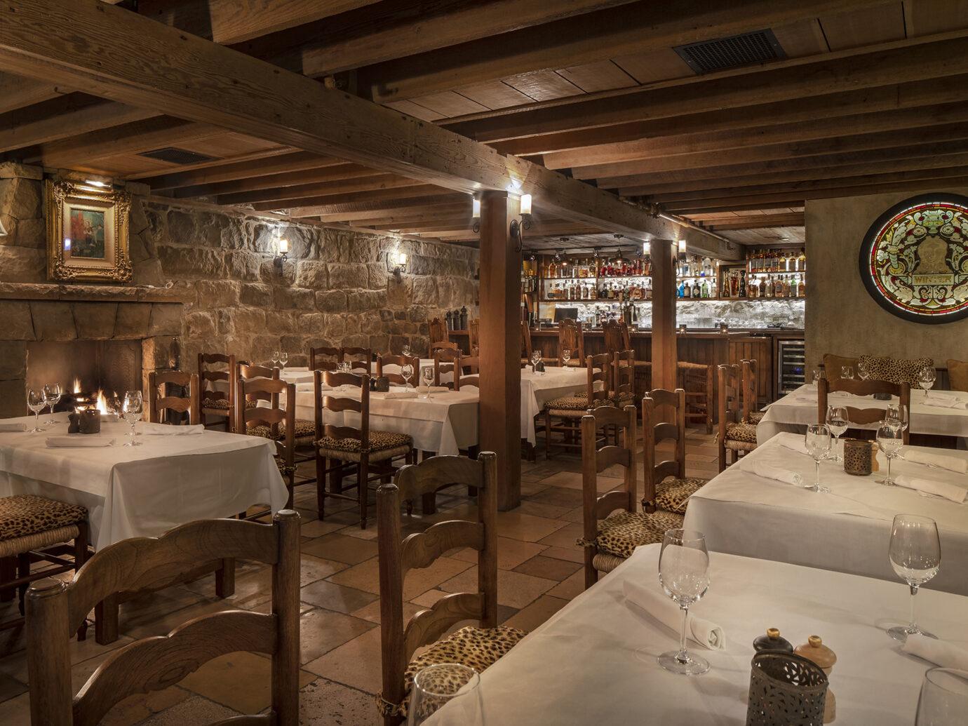 Restaurant at San Ysidro Ranch