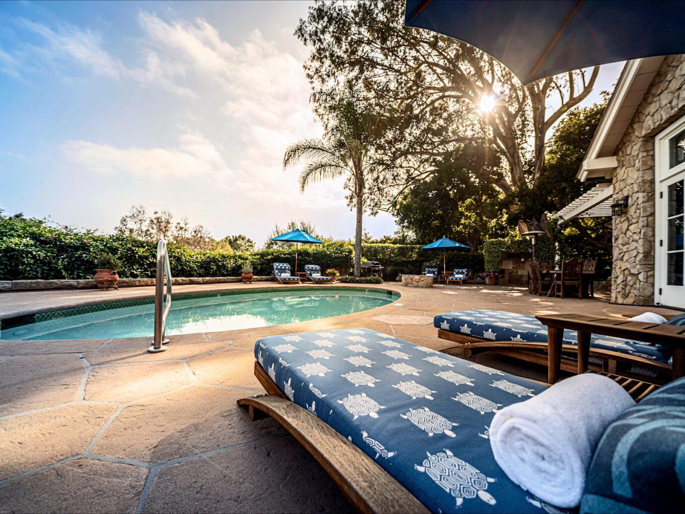 Pool at San Ysidro Ranch