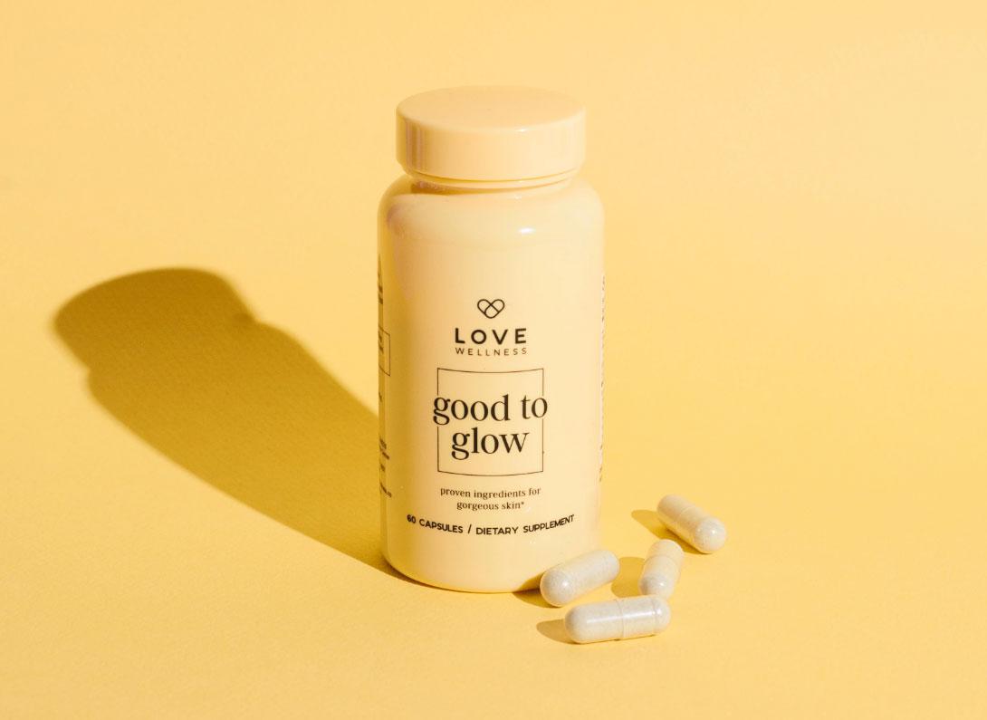 Love Wellness Good to Glow Supplement