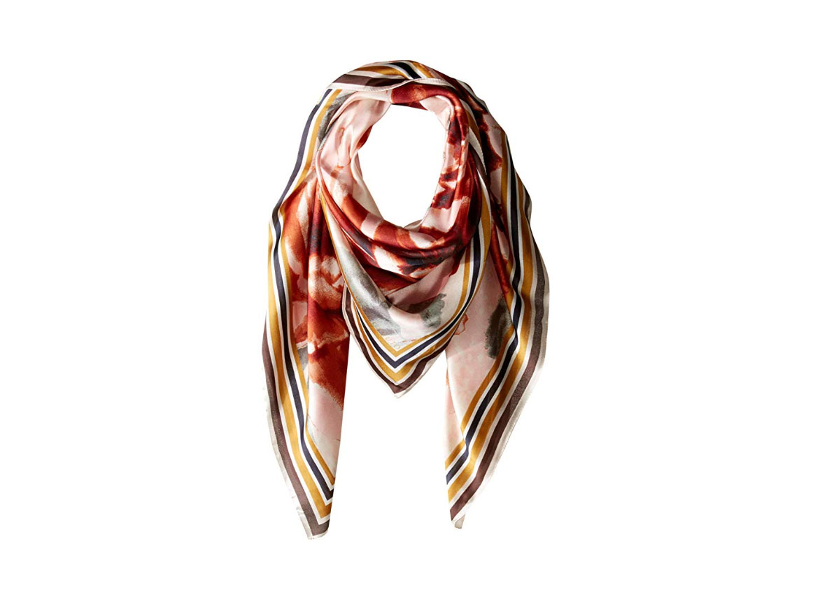 Vince Camuto Dreamtime Flowers Square Scarf