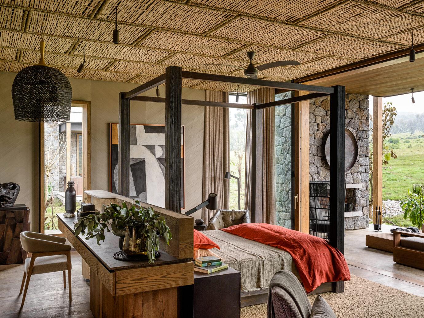 Bedroom at Singita Kwitonda Lodge