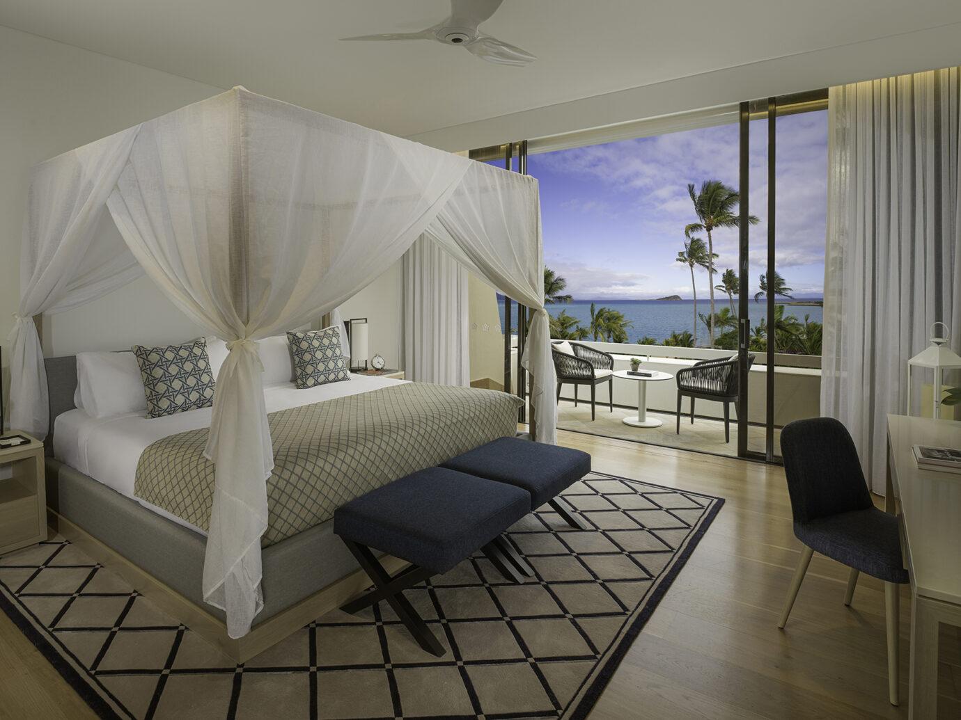 Bedroom at InterContinental Hayman Island Resort