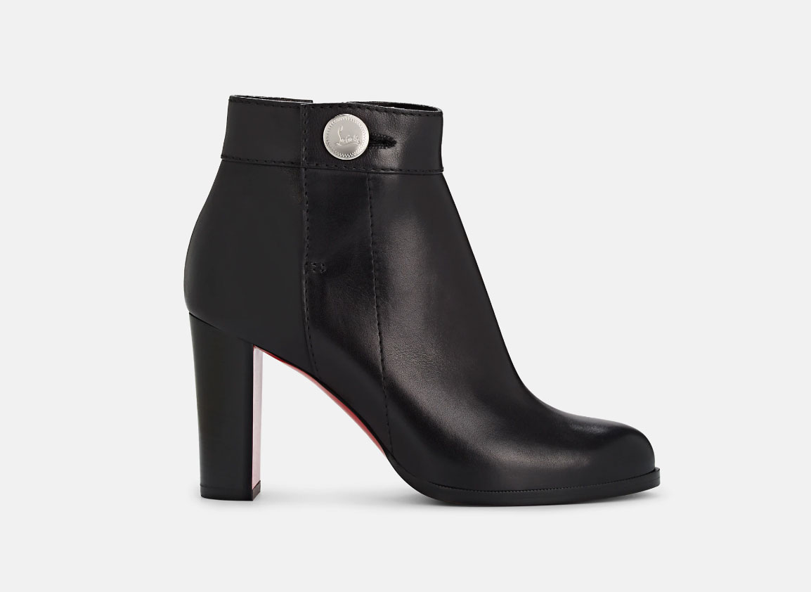 Christian Louboutin Janis Leather Ankle Boots