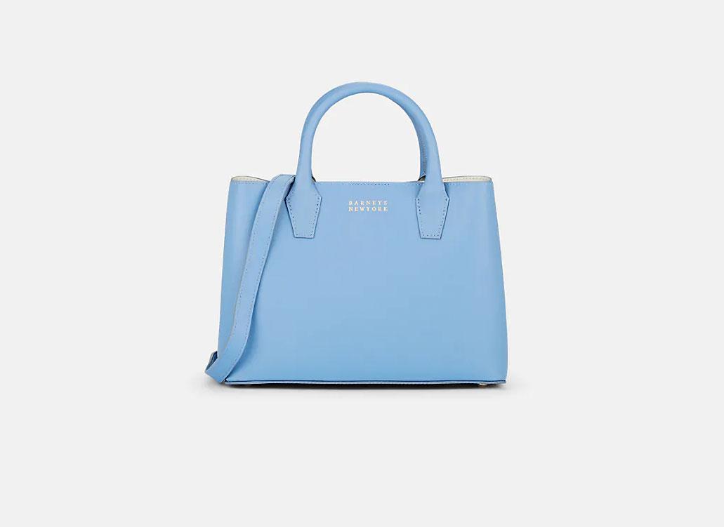 BARNEYS NEW YORK Jane Leather Bucket Bag