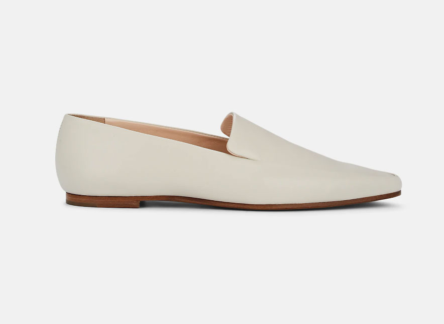 The Row Minimal Loafers