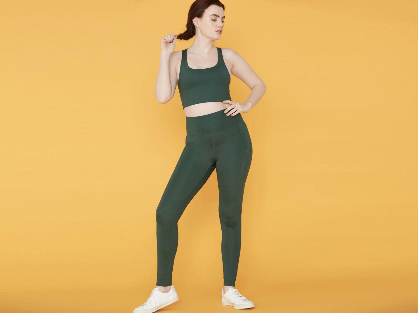 Girlfriend Collective Moss Compressive High-Rise Legging
