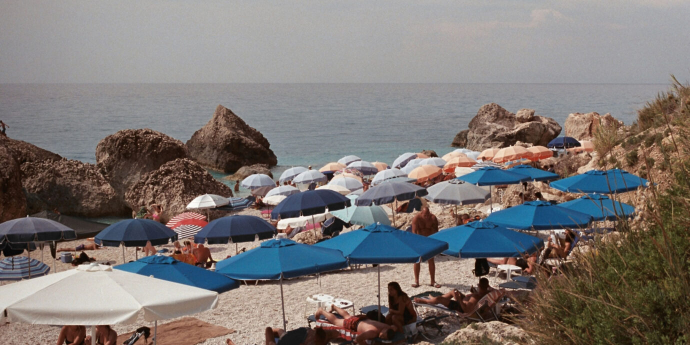 Milos Beach in Lefkada Greece