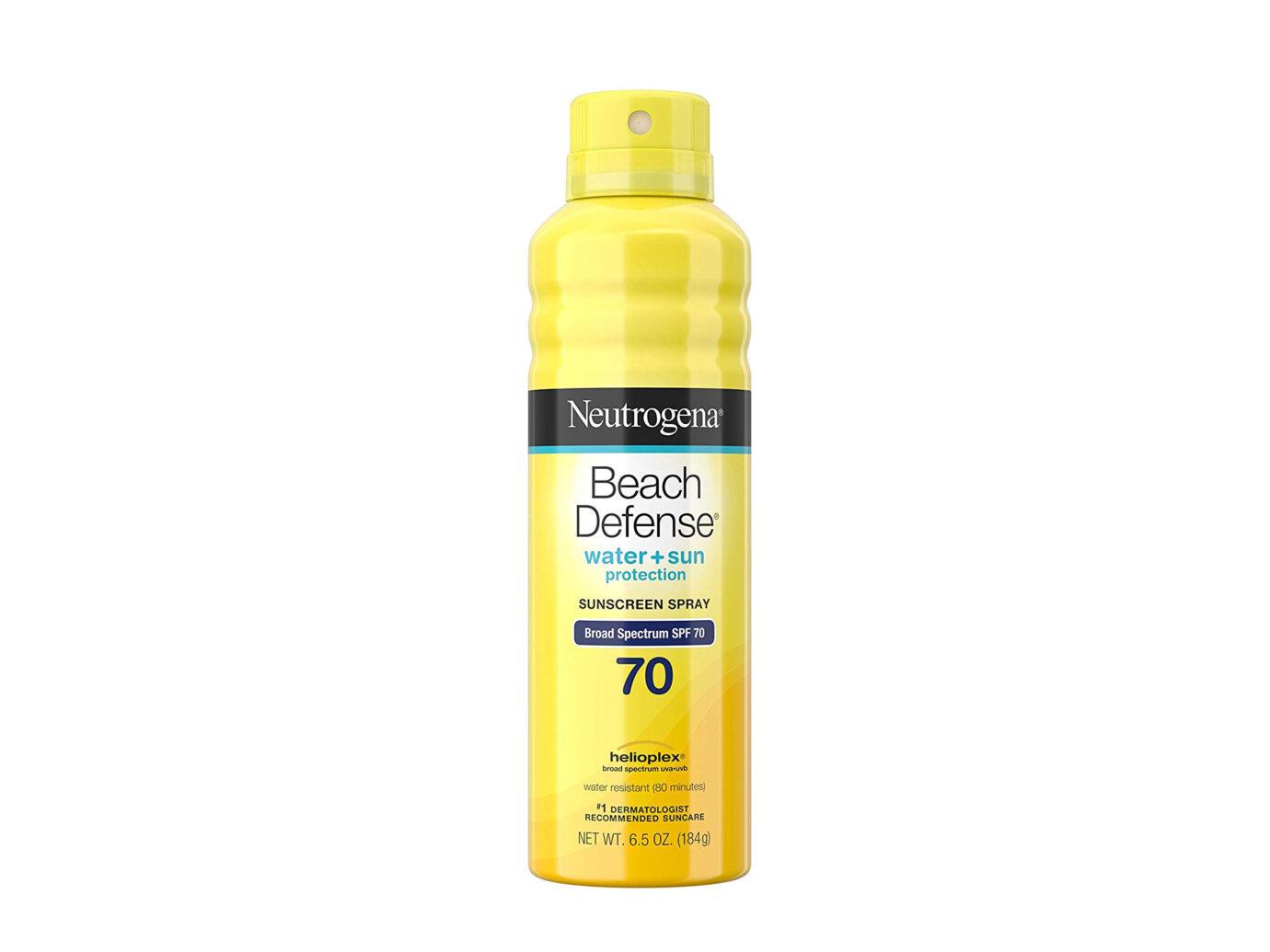 Neutrogena Beach Defense Body Spray Sunscreen