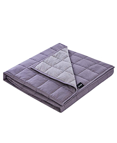 Purple Weighted Blanket
