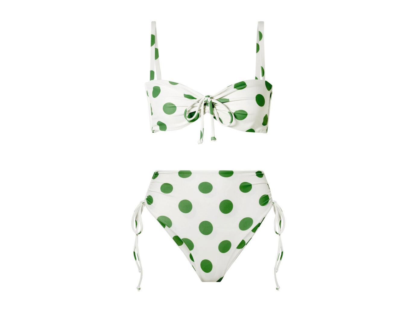 Faithfull the Brand Tessa and Helena Polka-Dot Bikini