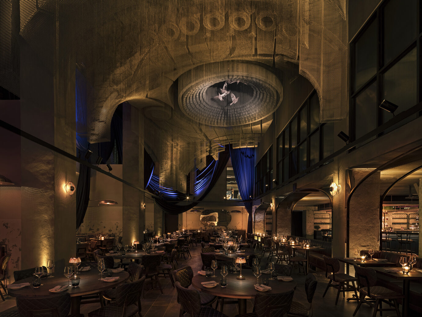 Cathedrale Dining Room at Moxy East Village