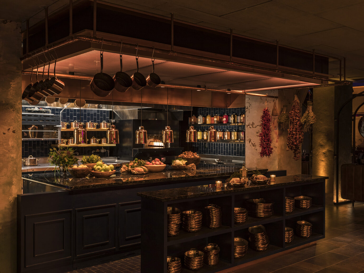 Cathedrale Open Kitchen at Moxy East Village