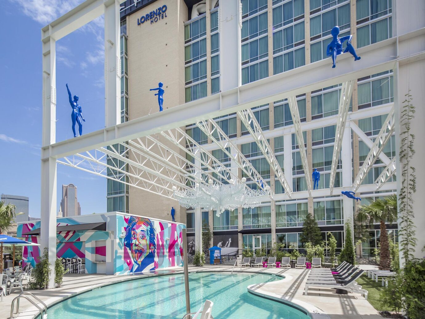 Pool at Lorenzo Hotel, Dallas, TX