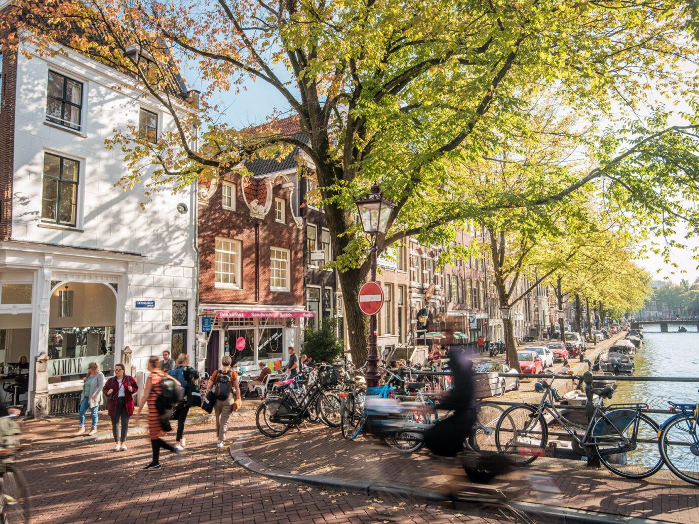 Autumn in the Jordaan neighbourhood, Amsterdam