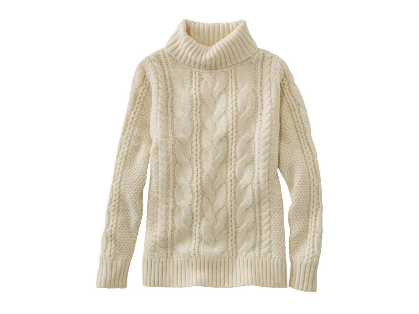 L.L.Bean Heritage Sweater Cable Pullover