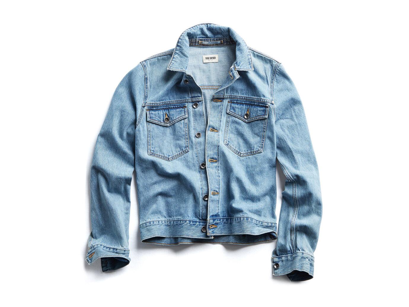 Todd Snyder Japanese Stretch Selvage Denim Jacket