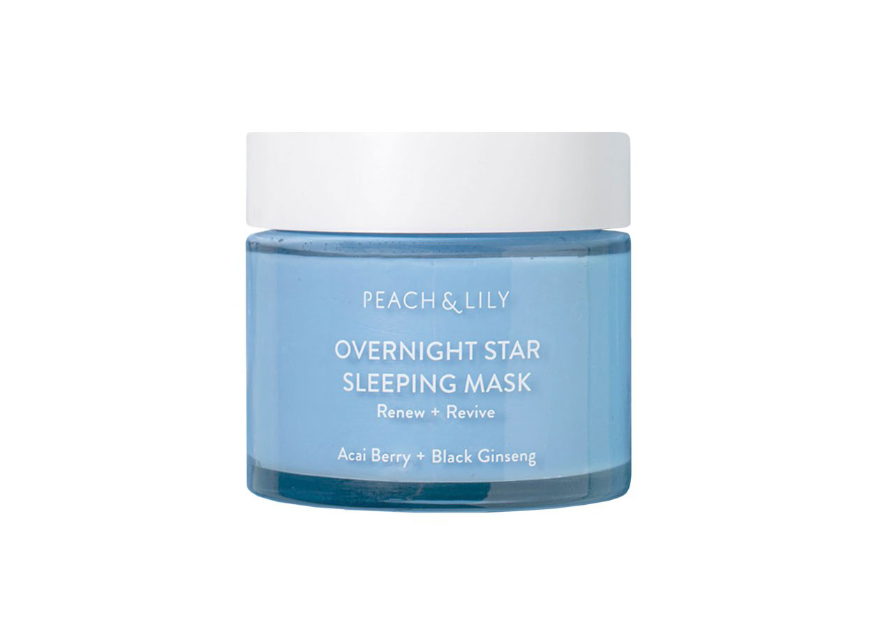 Peach and Lily Overnight Star Sleeping Mask