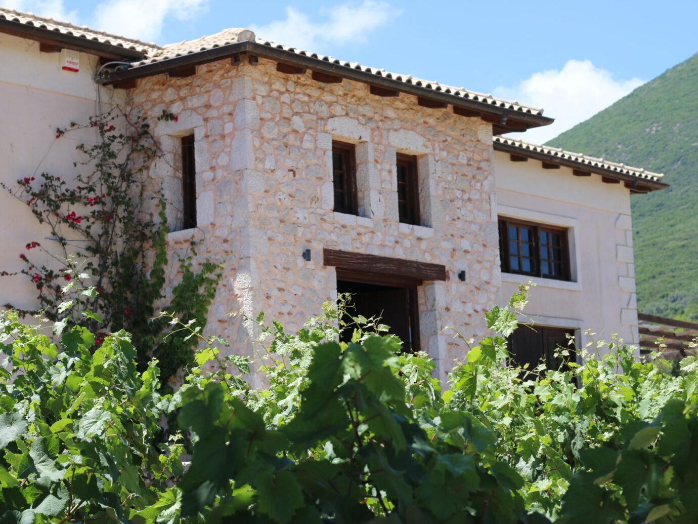 Winery in greece
