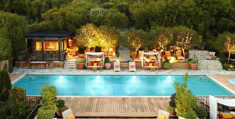 Pool at Auberge Du Soleil, An Auberge Resort
