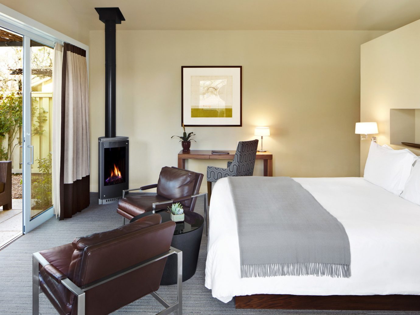 Bedroom at Solage Calistoga