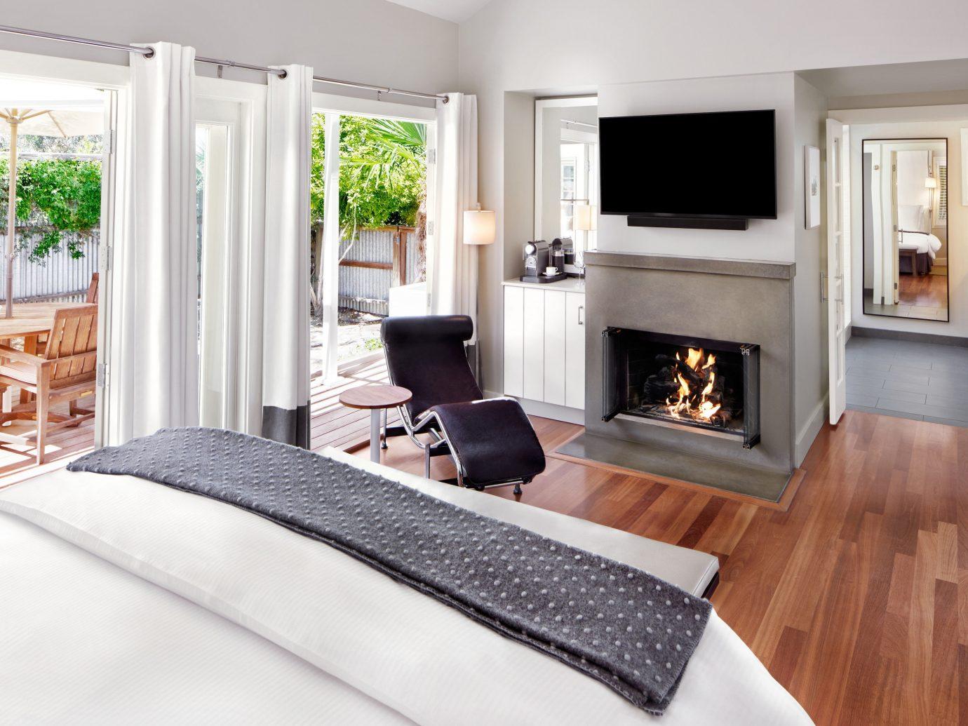 Bedroom at Carneros Resort and Spa
