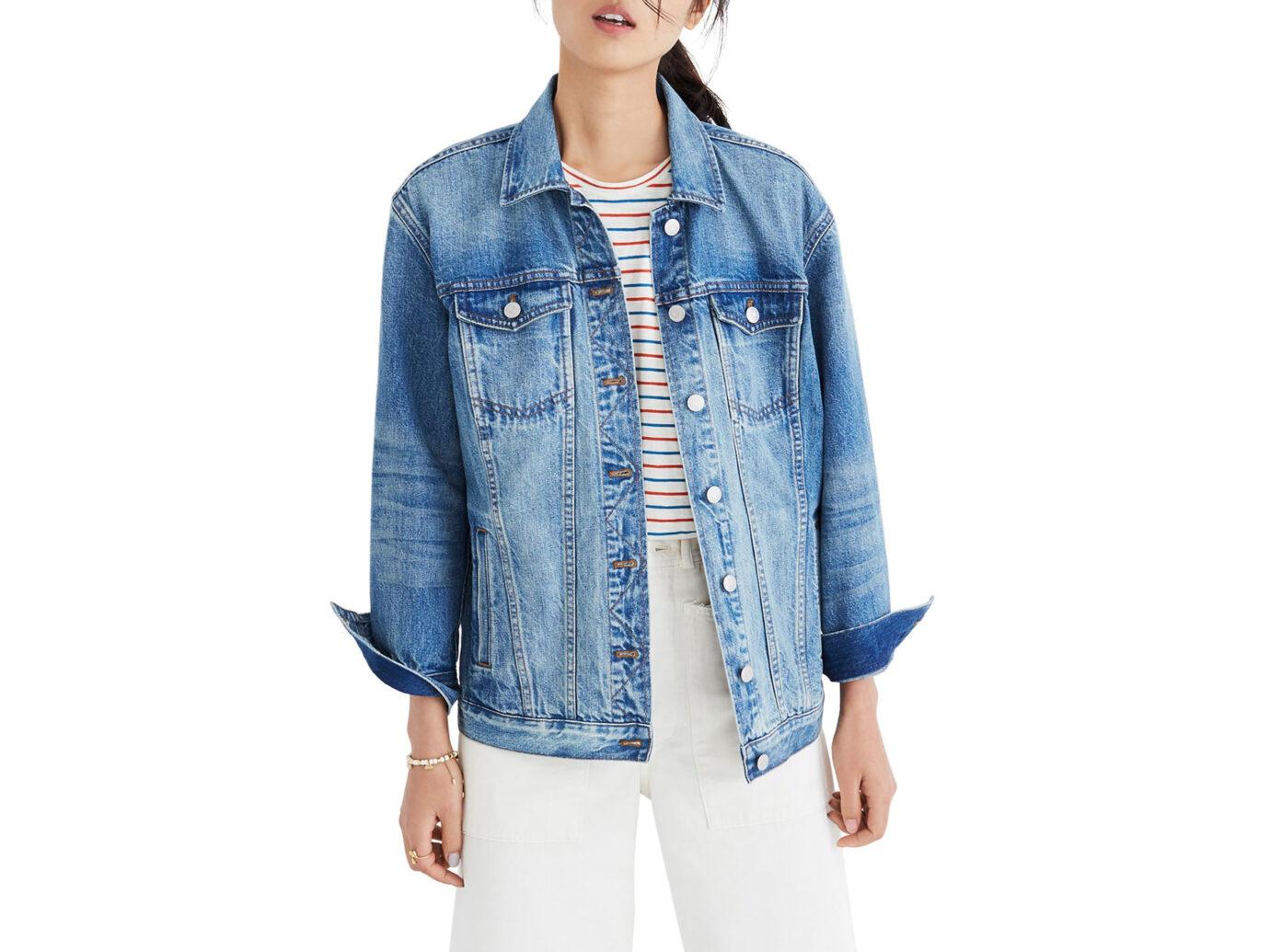 Madewell Oversize Denim Jacket