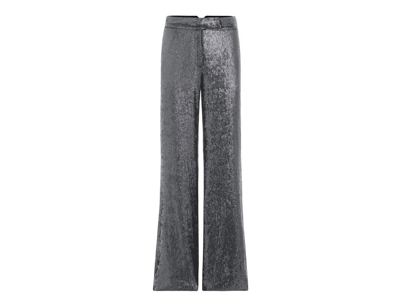 Rachel Zoe Maida Wide-Leg Fluid Sequin Pants