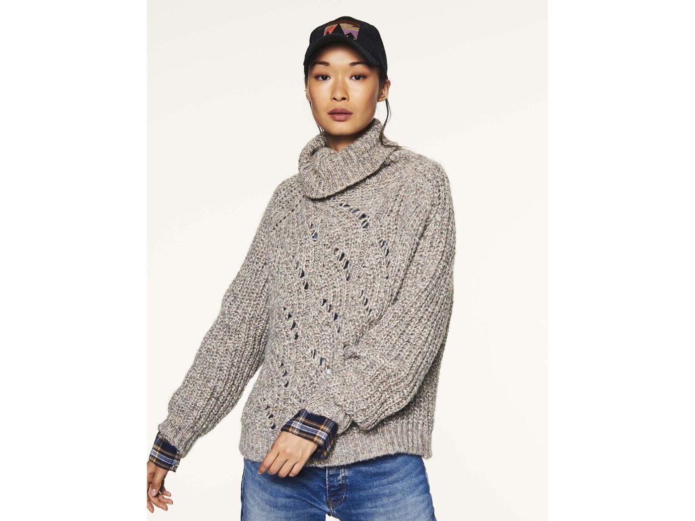 Ba&sh Azure Sweater