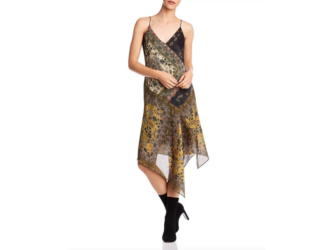 Bailey 44 Eleanora Asymmetric Paisley Slip Dress