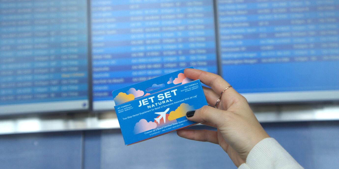 Jet Set Natural jet lag remedy