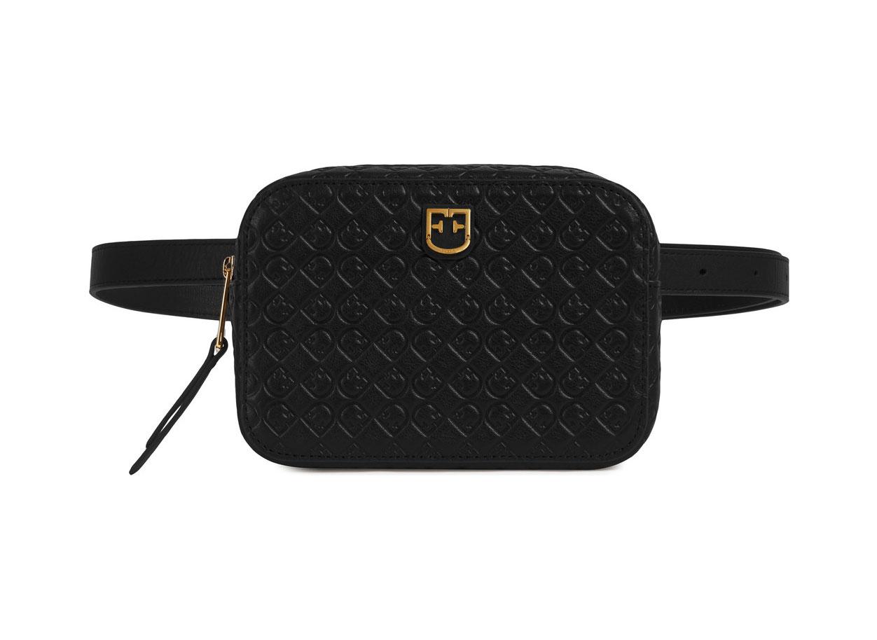 Furla Belvedere Belt Bag in Onyx