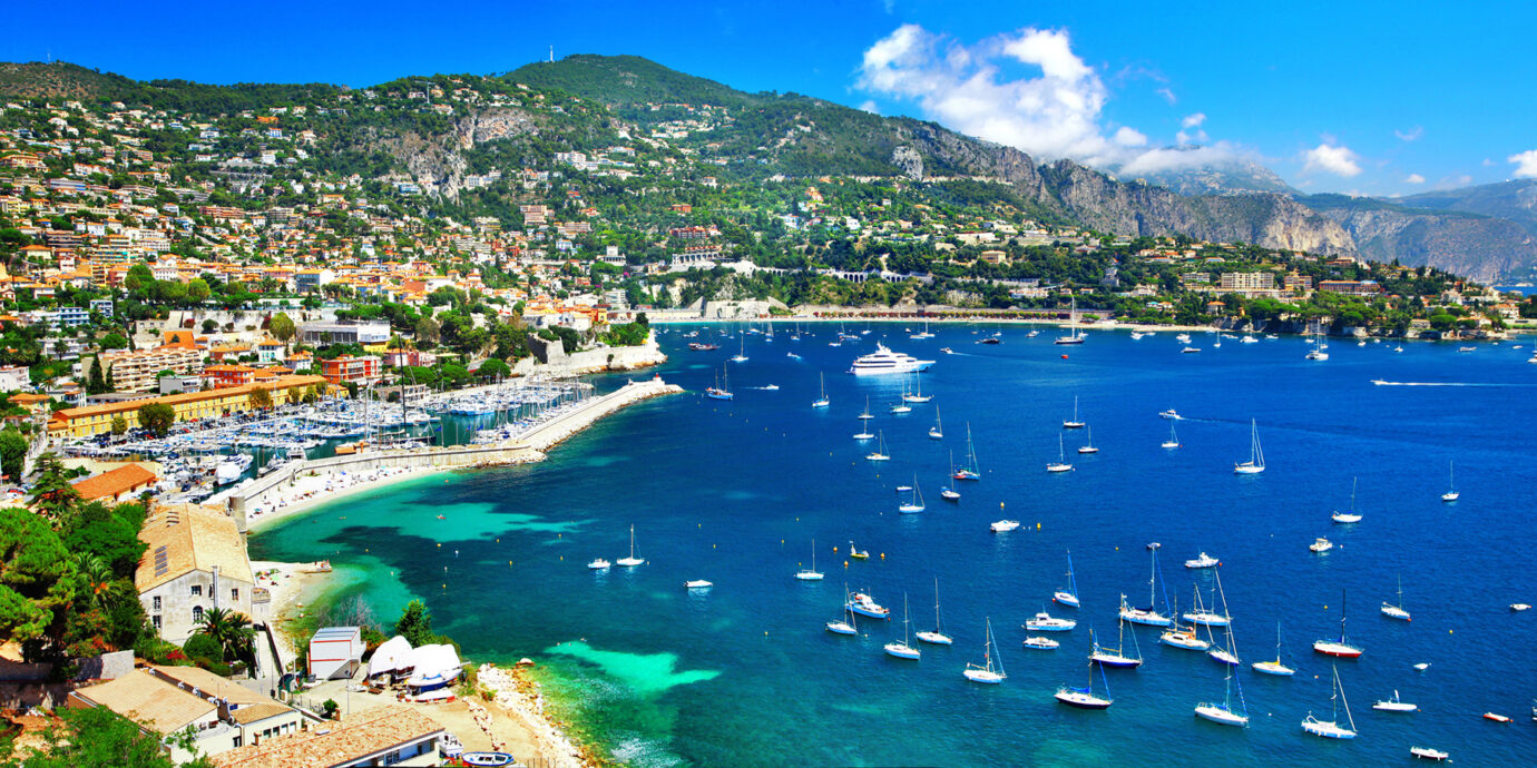 Panoramic view of Nice