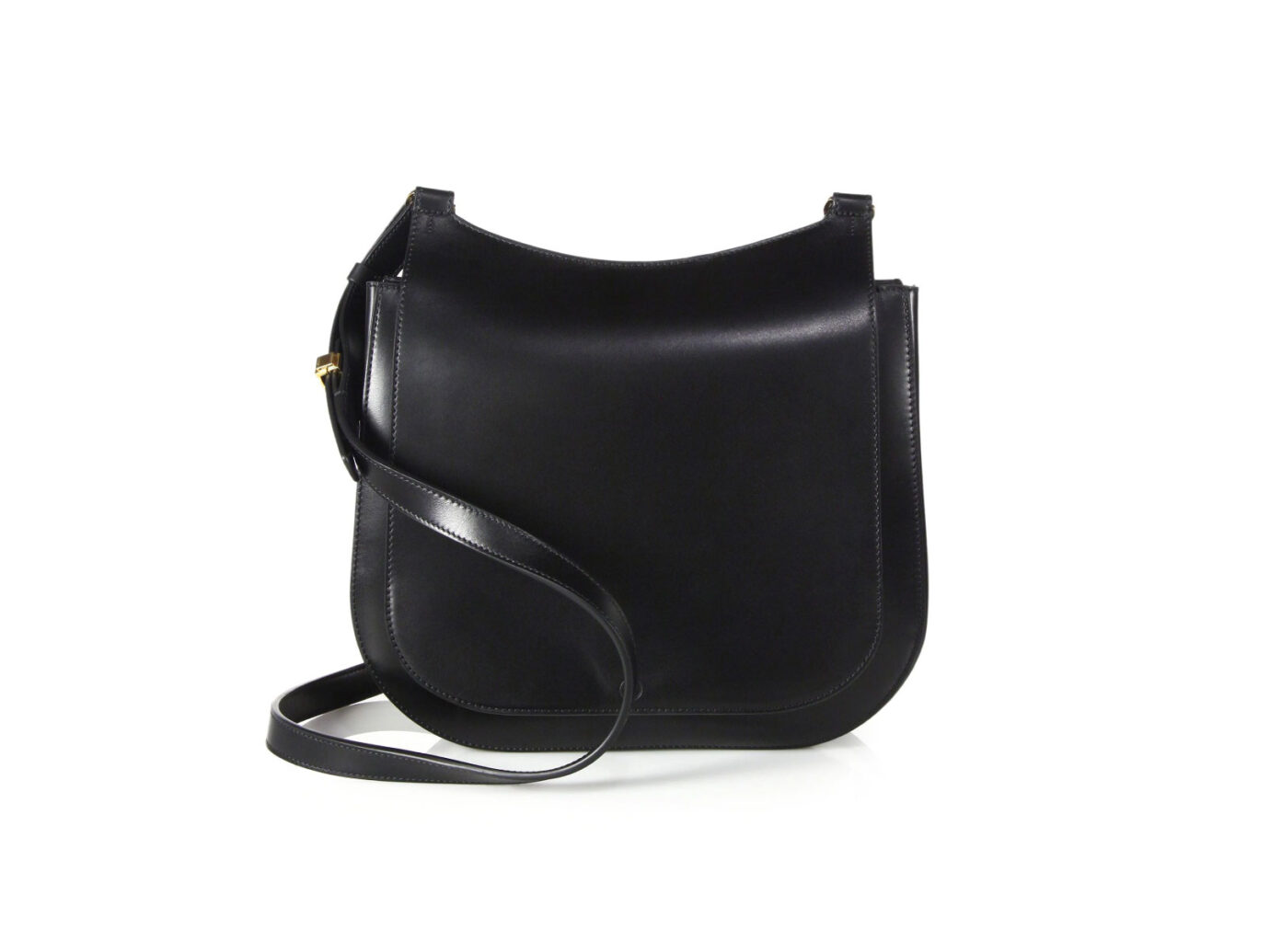 The Row Leather Hunting Bag