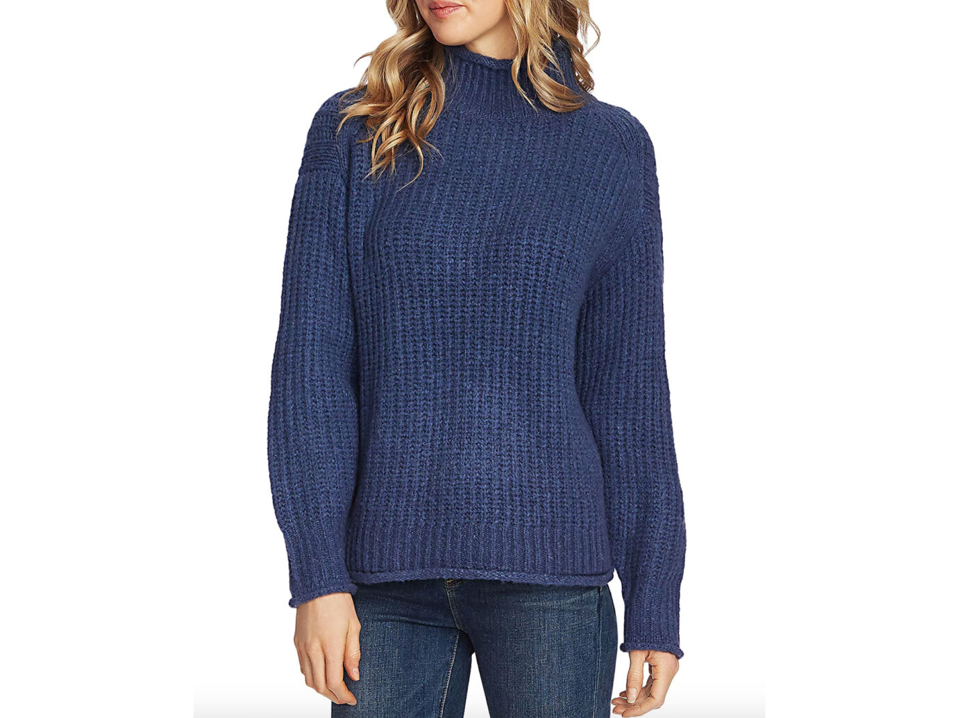 VINCE CAMUTO Mock-Neck Sweater
