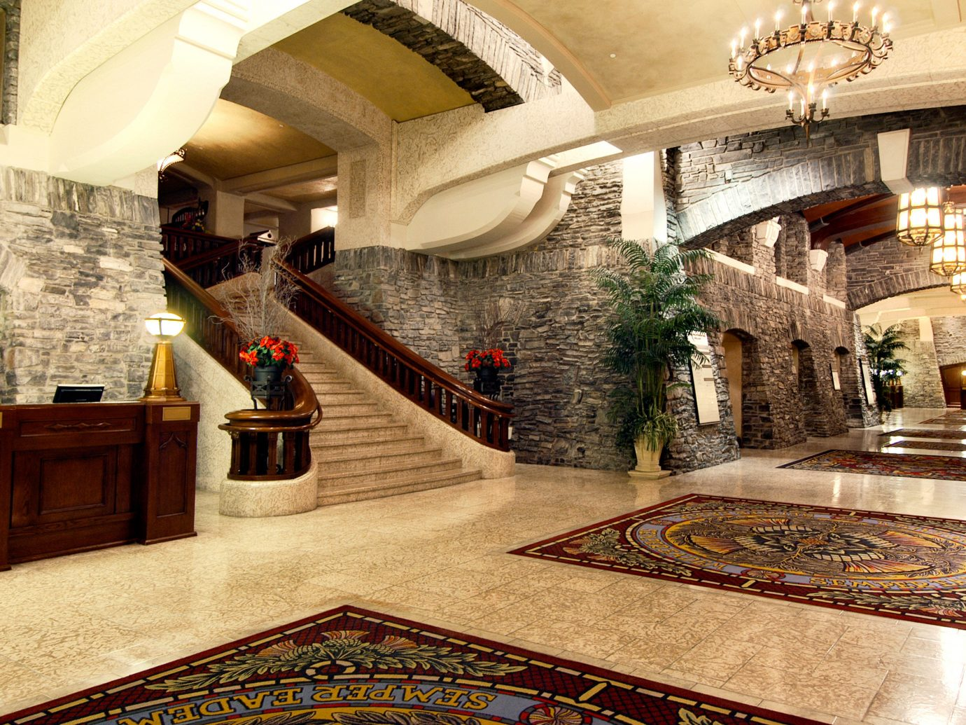 Lobby at Fairmont Banff Springs Hotel