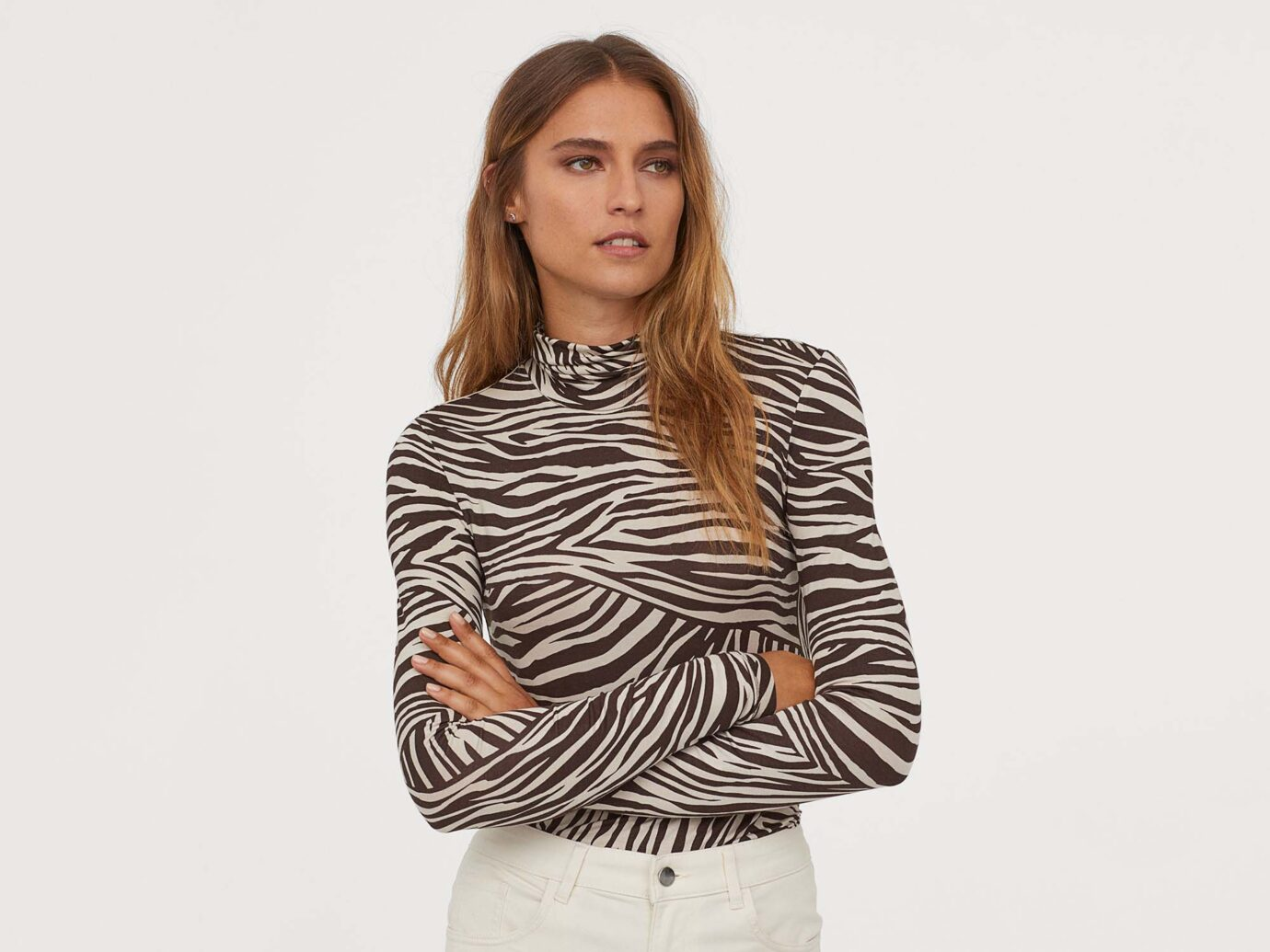 H&M Modal Turtleneck Top
