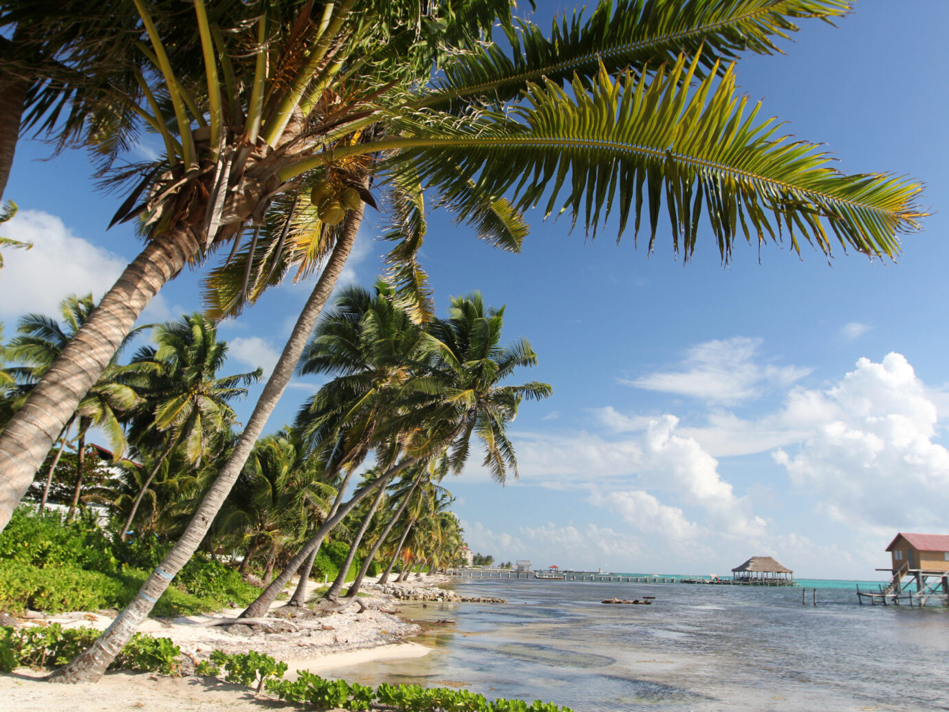 San Pedro of the island of Ambergris Caye in the Belize