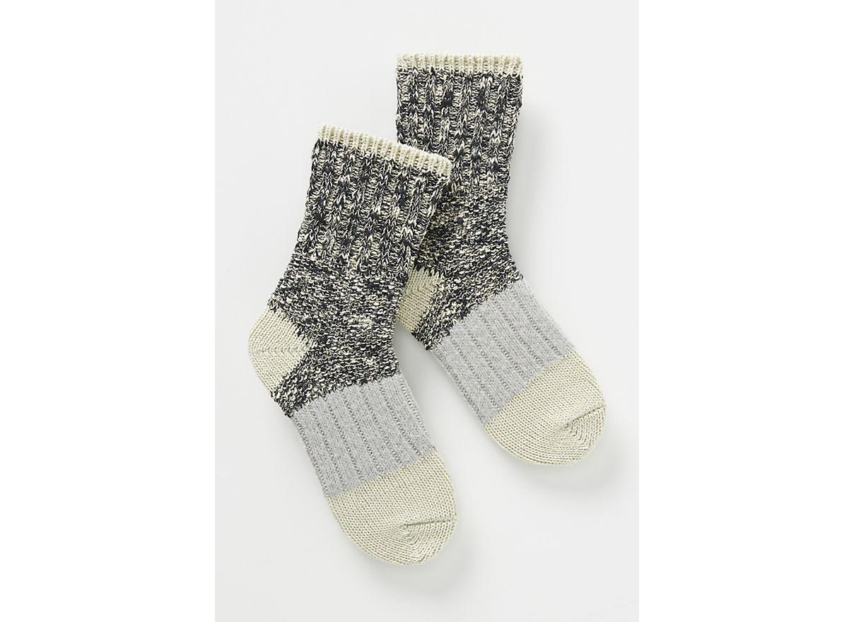 Hansel From Basel Marled Crew Socks