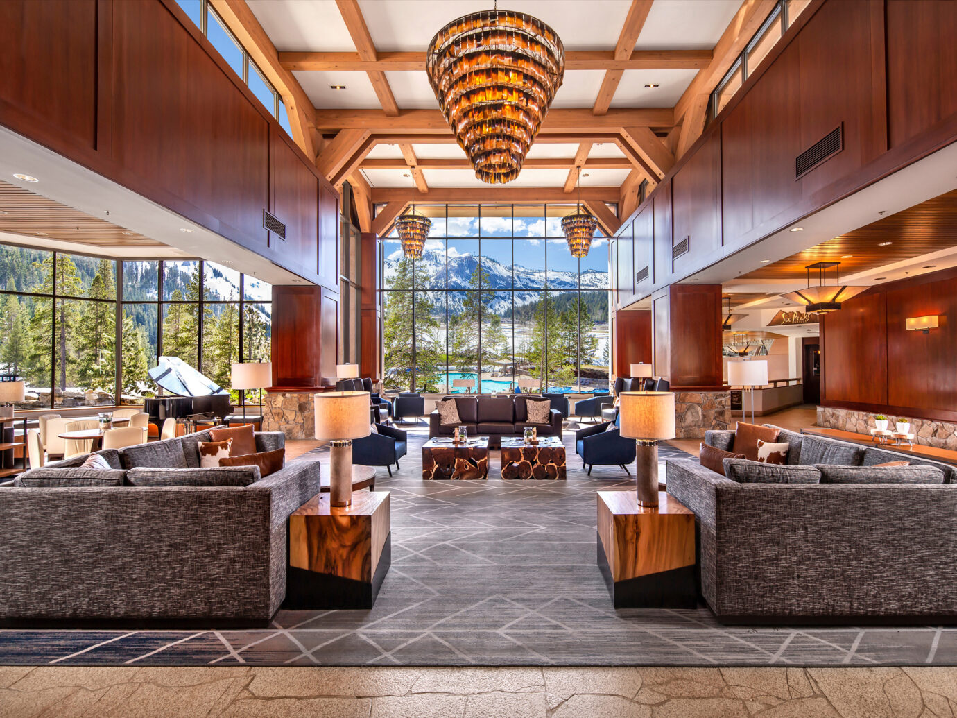 Lobby at Resort at Squaw Creek, Olympic Valley, CA