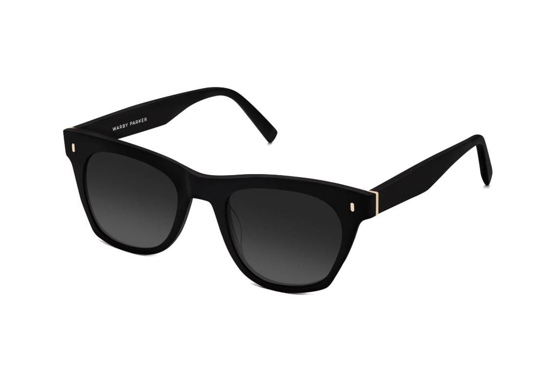 Warby Parker Hunt Jet Black Sunglasses