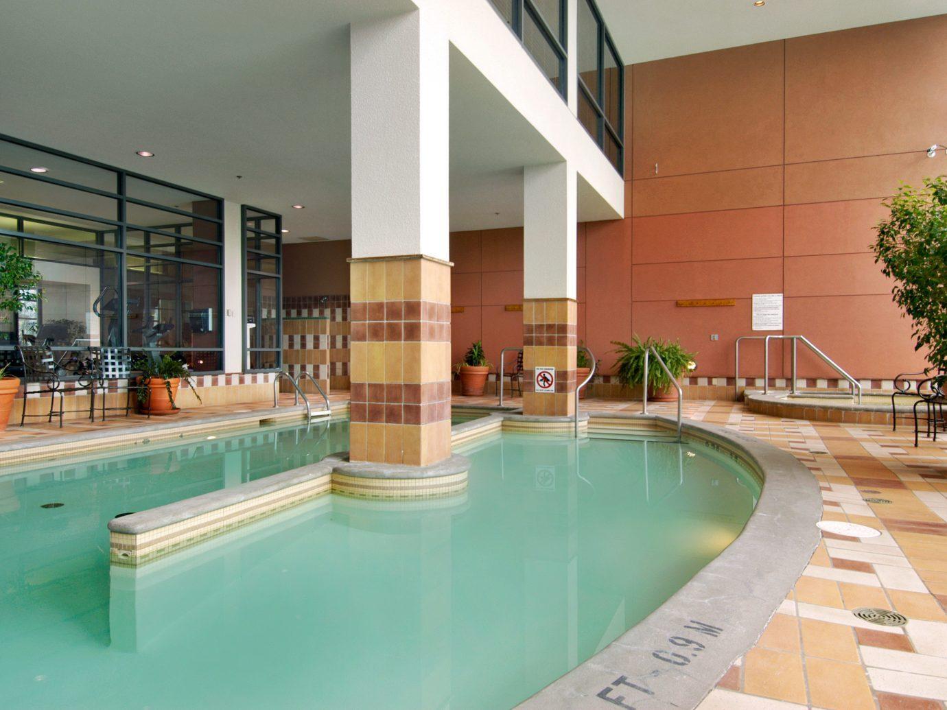Pool at the Fairmont Tremblant, Mont-Tremblant, QC