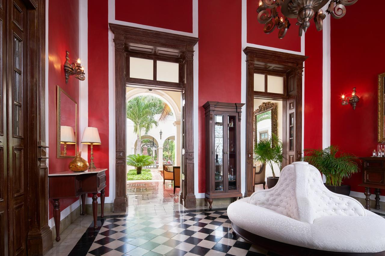 Lobby at Casa Lecanda, Merida