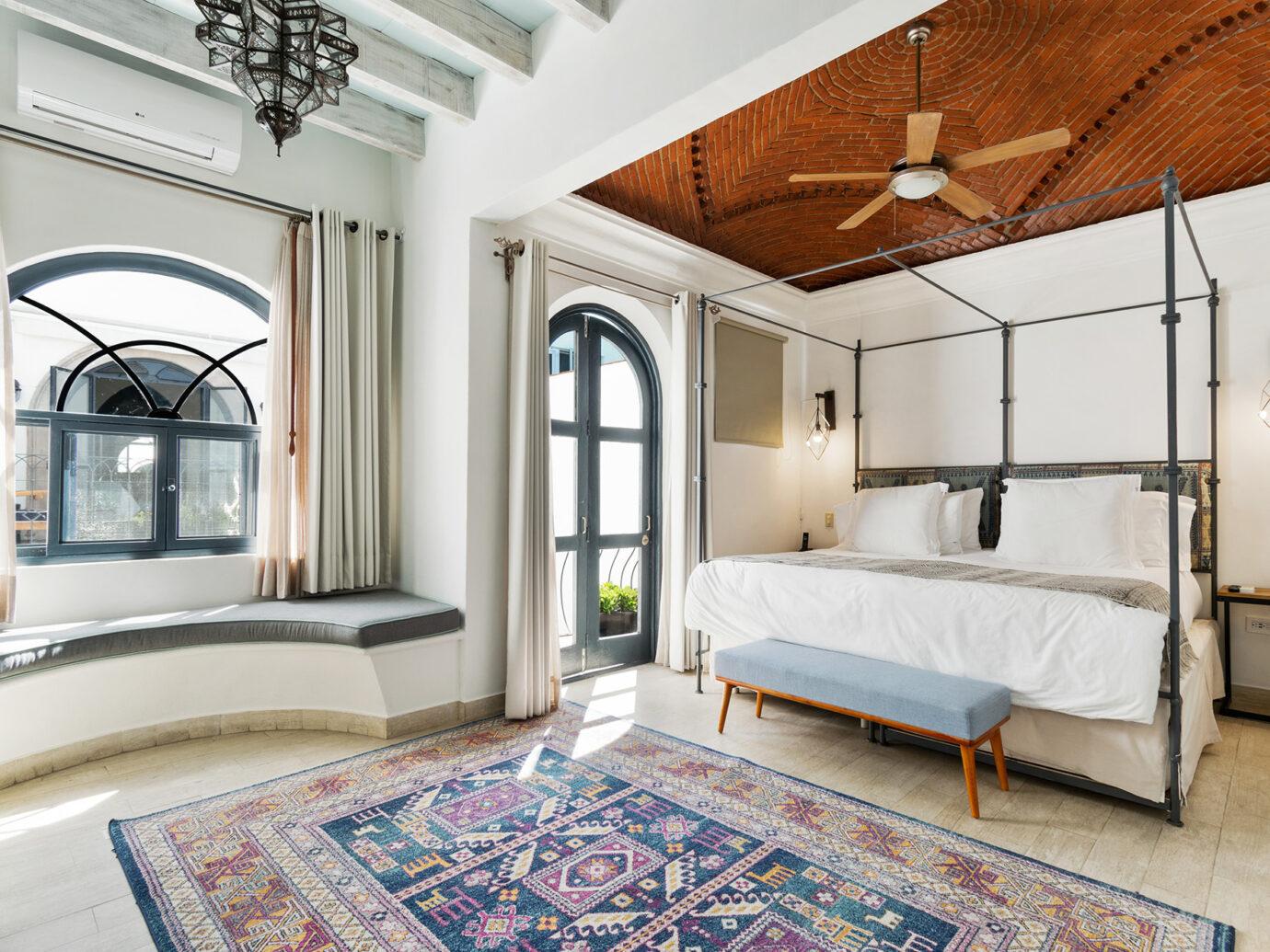 Bedroom at Casa Delphine, San Miguel de Allende